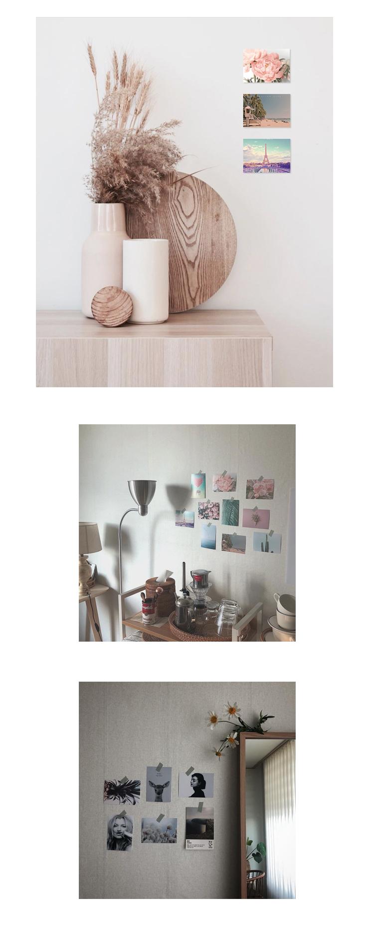 인테리어+감성사진+사진세트+로맨틱+방꾸미기